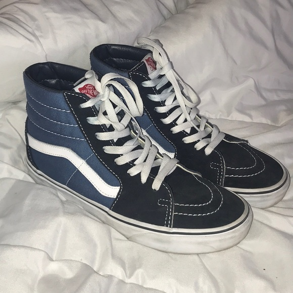 vans old school high top